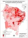 Área plantada com milho em 2009-2011 na região Nordeste do Brasil