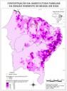 Concentração da agricultura familiar na região Nordeste do Brasil em 2006